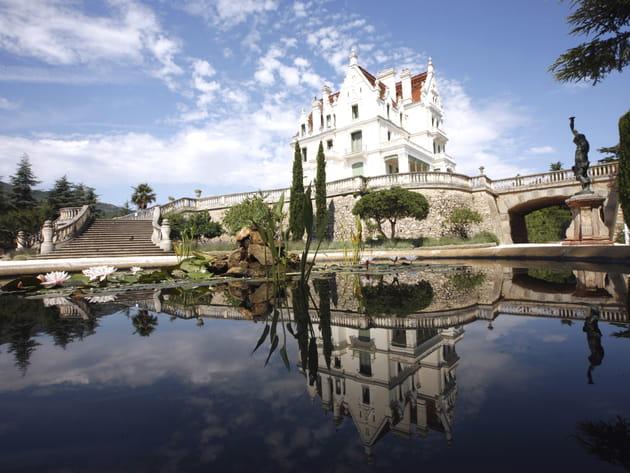 Le Château de Valmy, sur les hauteurs d'Argelès