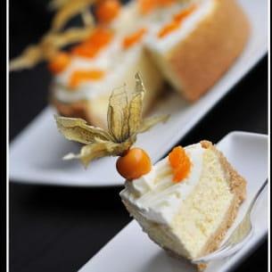 cheesecake à la mandarine