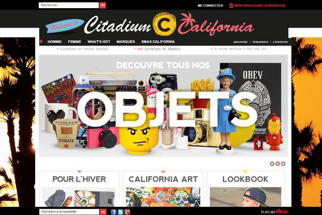 Le e-shop de Citadium