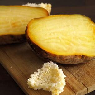 betterave jaune en croûte de sel