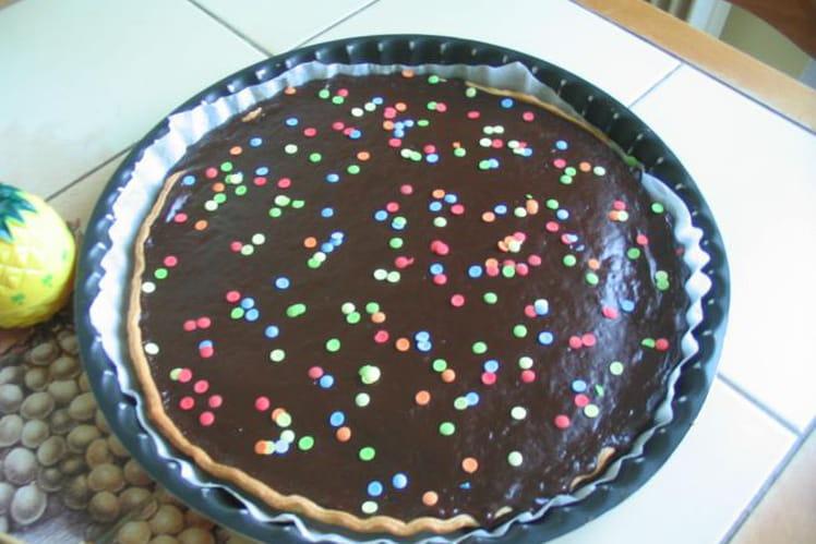 Tarte au chocolat des enfants