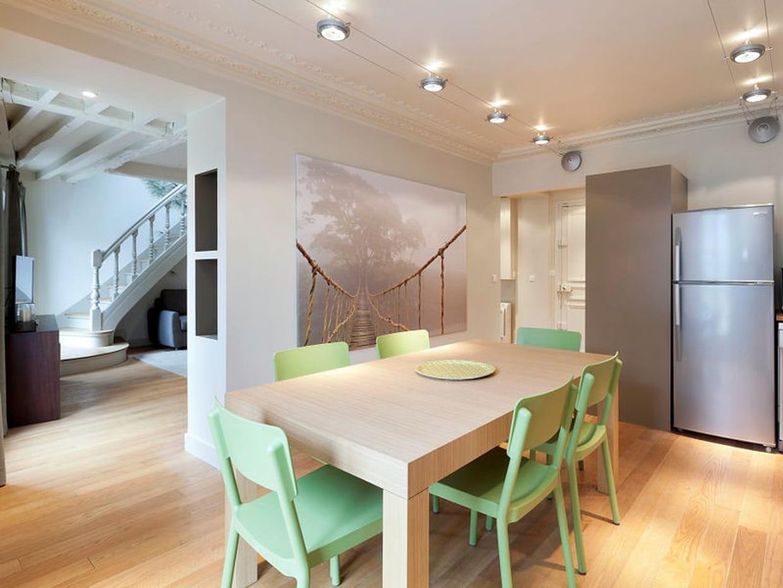 vert pastel dans une cuisine pur e. Black Bedroom Furniture Sets. Home Design Ideas