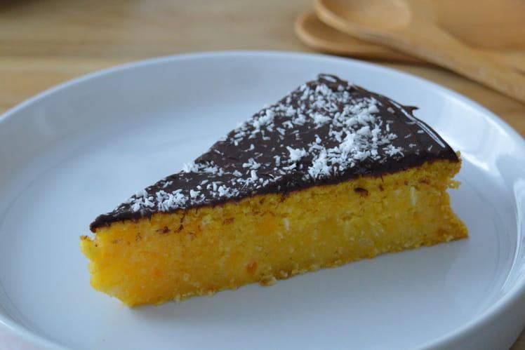 Gâteau au potimarron et à la noix de coco