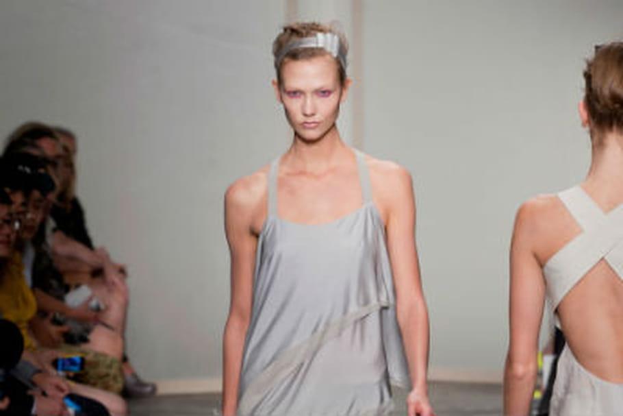 Fashion week: douce mélancolie chez Donna Karan