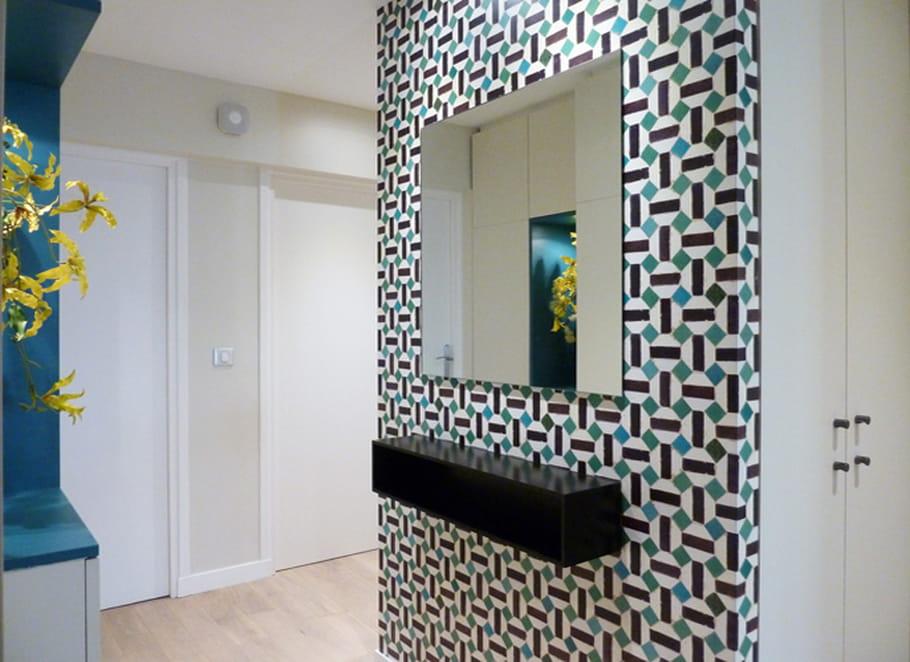 comment peindre un couloir avec style. Black Bedroom Furniture Sets. Home Design Ideas