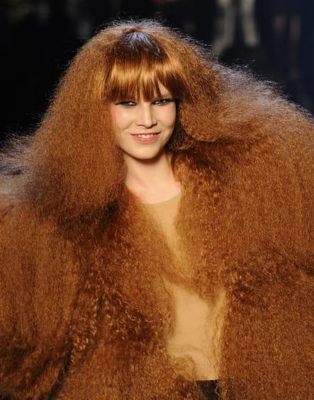 Les cheveux gaufrés en 2008