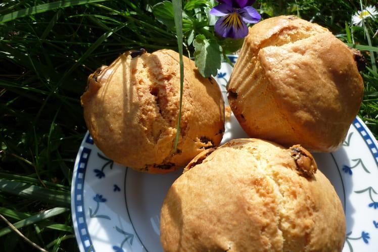 Muffins rhum-raisins
