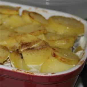 gratin de pommes de terre au hareng