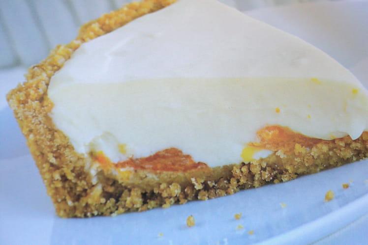 Cheesecake fondant aux quartiers de mandarine