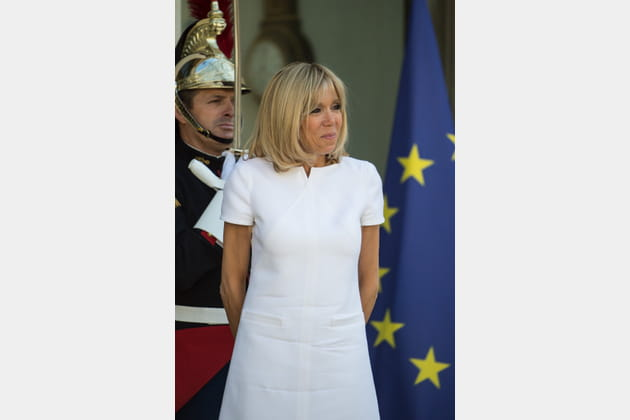 Brigitte Macron le 8juin 2017