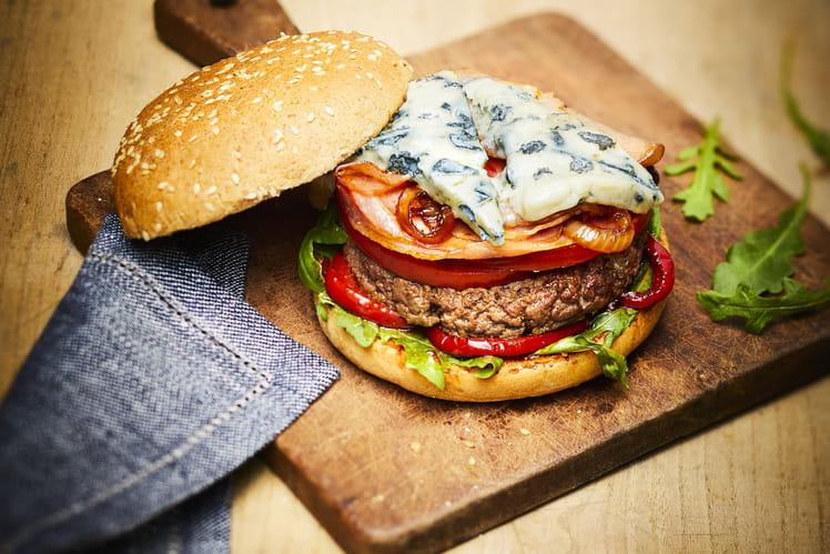 Burger au Saint Agur