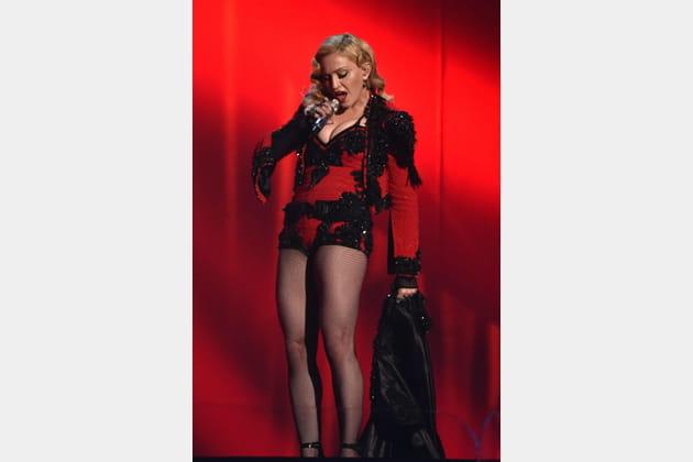 Madonna le 8fevrier 2015