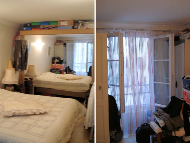 Avant : une chambre sans âme