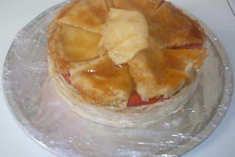 Gâteau de crêpes à la cannelle