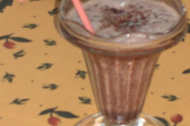 Milk-shake au chocolat