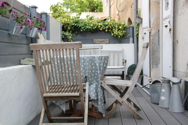 La terrasse sur cour