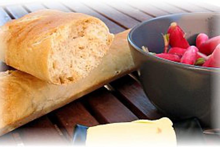 Baguettes maison sans machine à pain ni robot