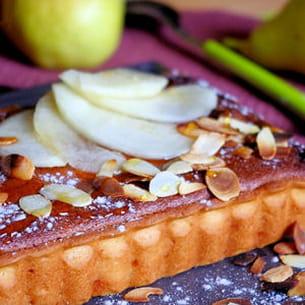 tarte amandine aux poires