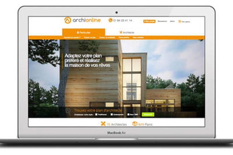 Archionline site vente plans maison d'archi