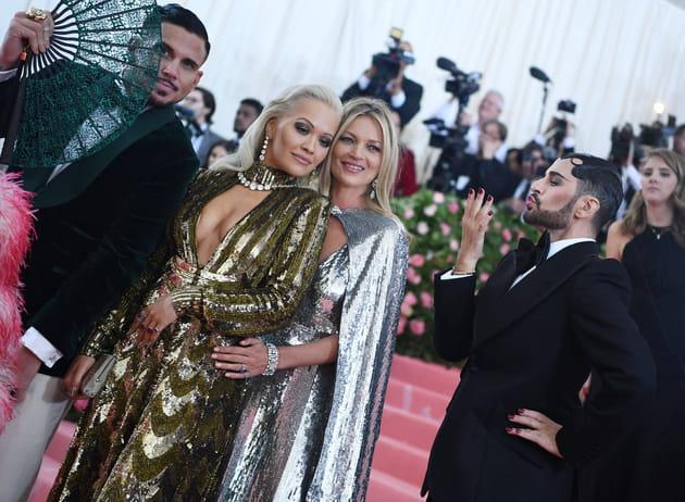 Rita Ora et Kate Moss prennent la pose