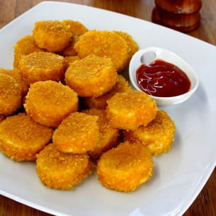 nuggets de poulet panés aux curly