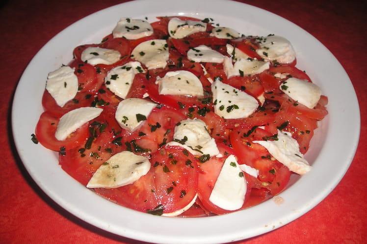 Mozarella en salade