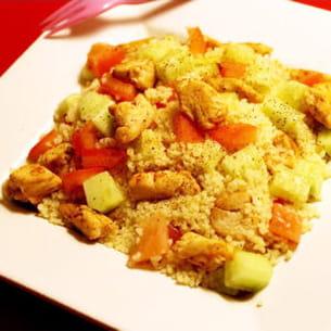 taboulé estival poulet et paprika