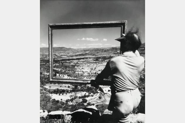 Le peintre André Lhote - Gordes, 1947