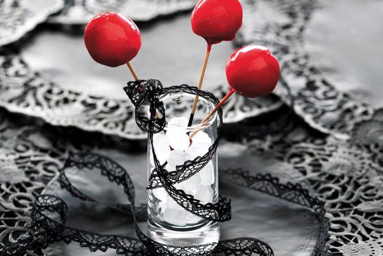 Pommes d'amour comme à la fête foraine