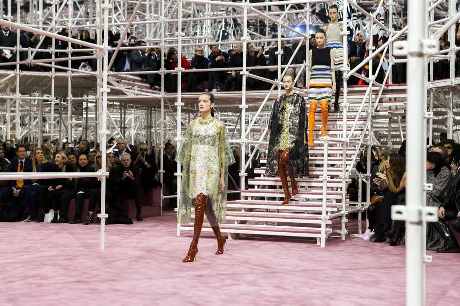 Défilé Christian Dior haute couture printemps-été 2015 : rétro-futurisme