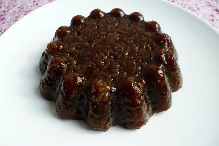 Gâteau de riz de konjac à la chicorée et au psyllium