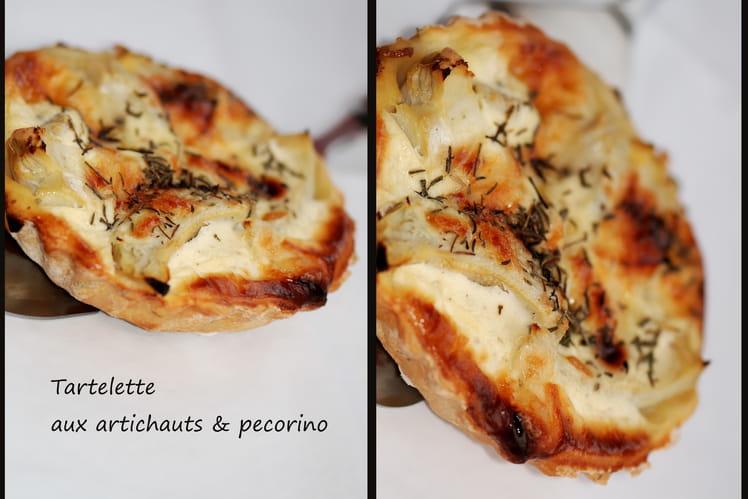 Tartelette aux artichauts & pecorino