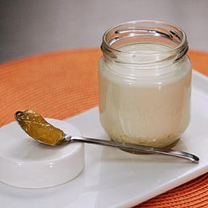 yaourts à la confiture d'orange
