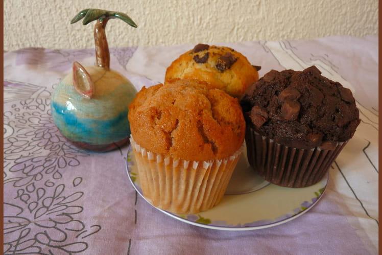 Pâte à muffins basique