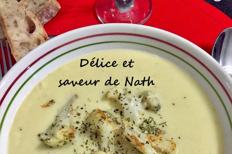 Soupe de chou-fleur au safran