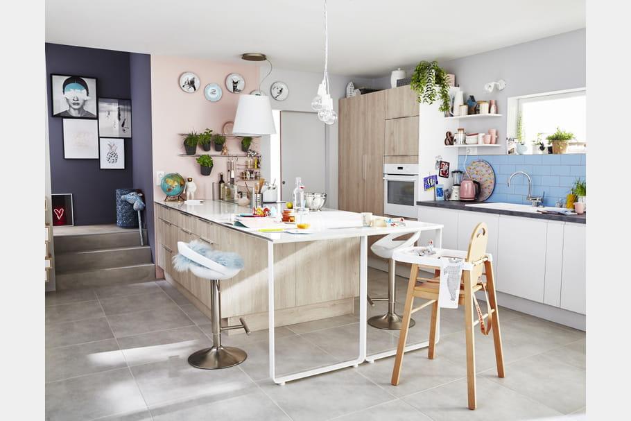 Cuisine nordik de leroy merlin - Modele de cuisine leroy merlin ...