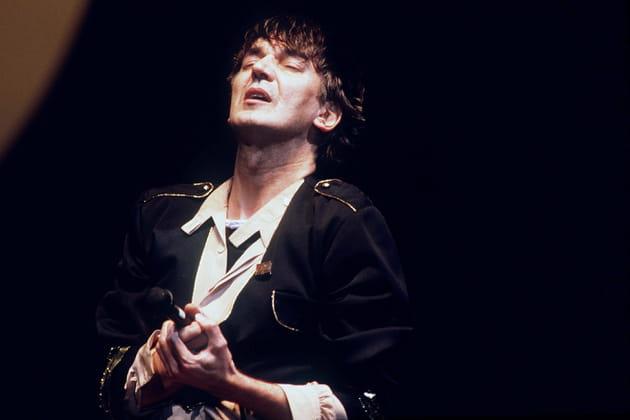 """Au concert des """"Chanteurs sans frontière"""" en 1985"""