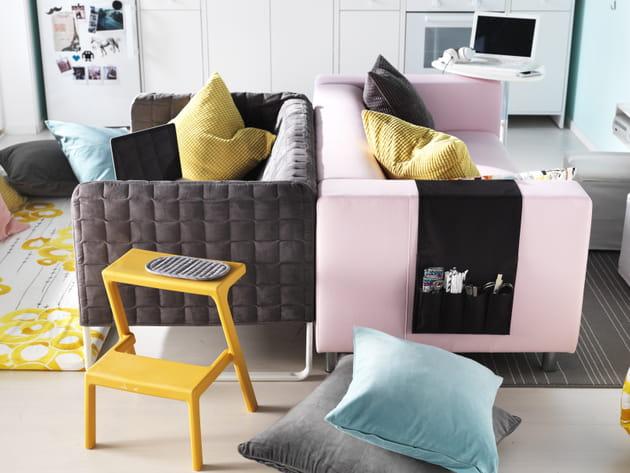 Canapés Knopparp et Klippan d'IKEA