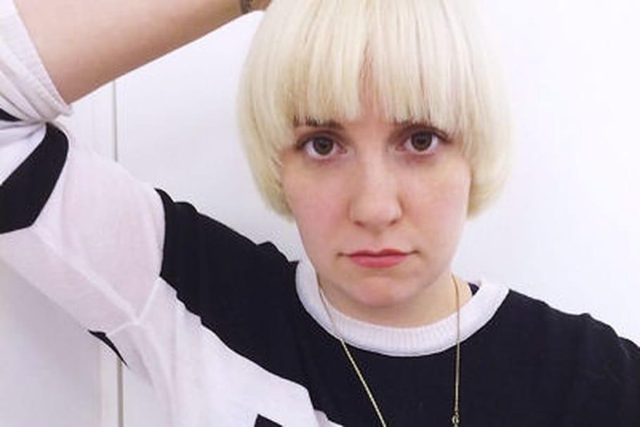Lena Dunham change de coupe de cheveux