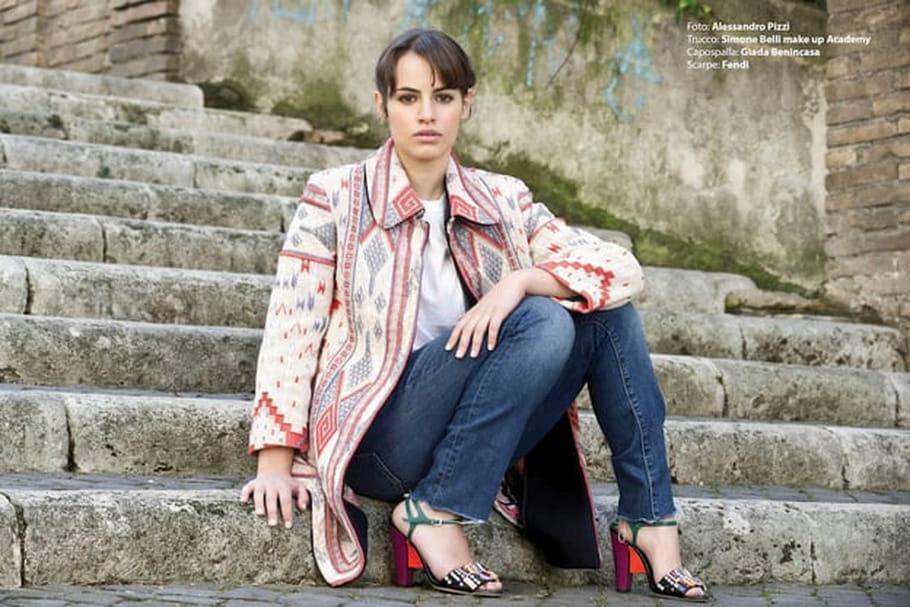 Angela Curri, la Fornarina de Raphaël, rêve de cinéma français