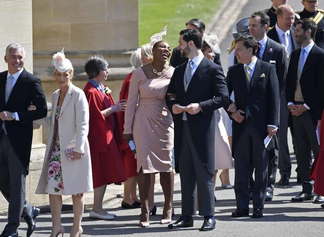 Serena Williams, heureuse au bras de son époux Alexis Ohanian