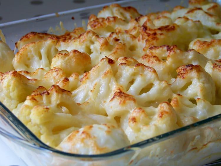 recette de grtain de chou fleur pommes de terre et parmesan la recette facile