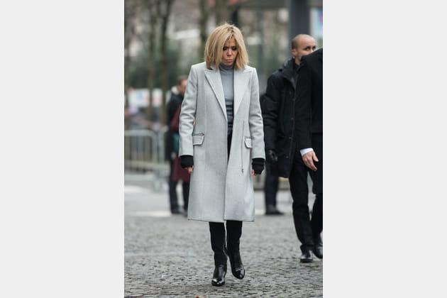 Brigitte Macron le 7janvier 2018