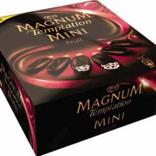 magnum temptation mini fruits rouges
