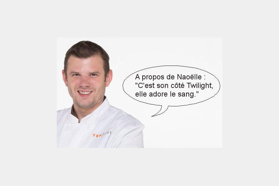 Jean-?Philippe : C'est son c...té Twilight, elle adore le sang