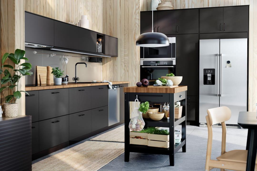 Cuisine recyclée IKEA