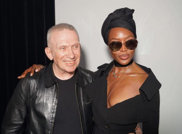 Jean Paul Gaultier et Naomi Campbell chez Jean Paul Gaultier