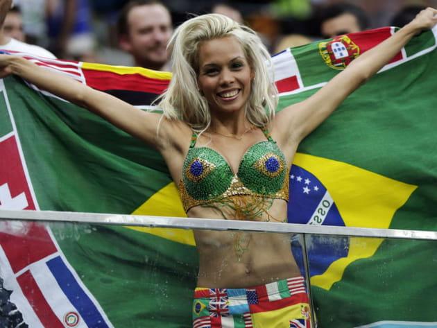 Supportrices sexy Coupe du monde 2014 Brésil