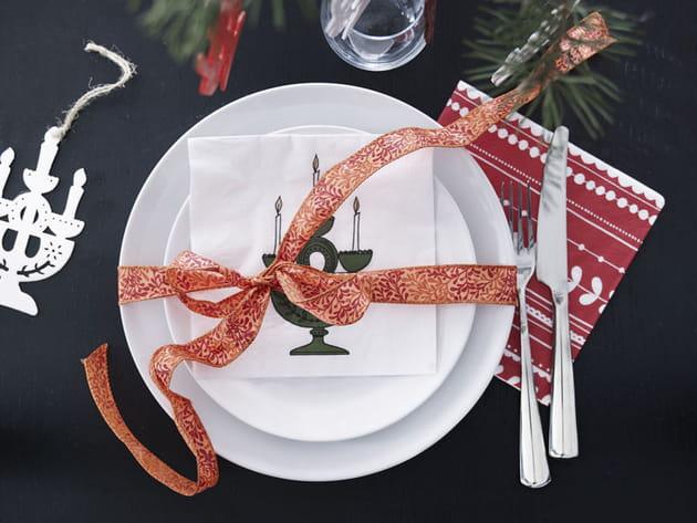 Déco art de la table Noël IKEA
