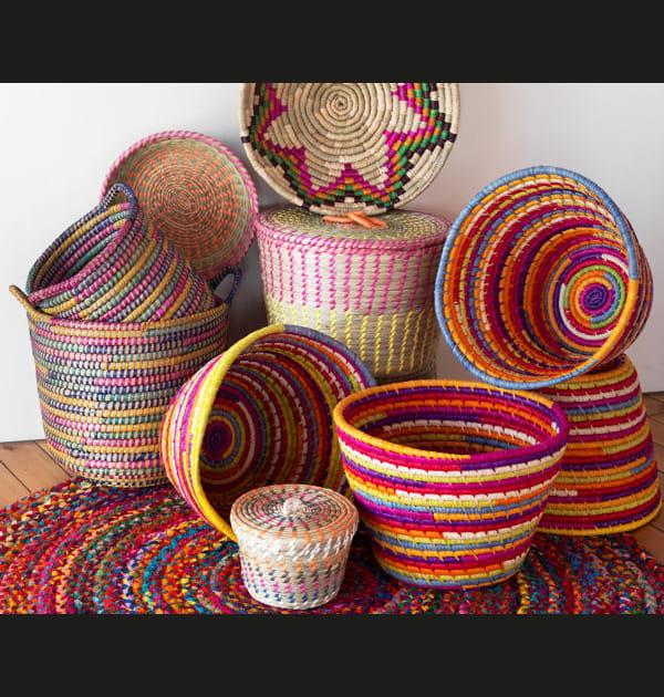 Paniers Multicolores De Maisons Du Monde